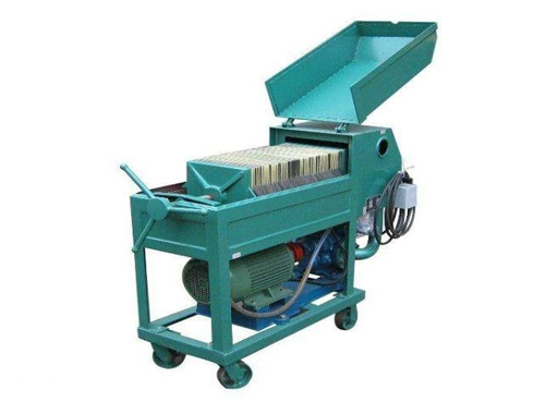 PF Plate Press Oil Filter Machine