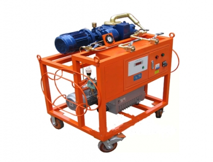 SF6 vacuum evacuation & filling device