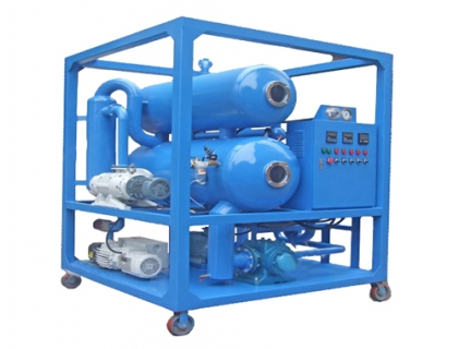 High Vacuum Transformer Oil Purification System