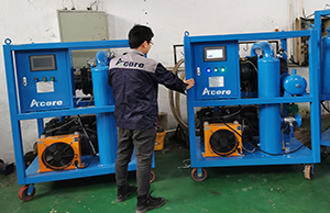 Two Units of Vacuum Pump Sets VPS-1000 Sales to France, Europe
